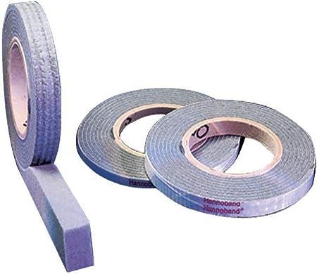 4 Rollen Kompriband 20//2 anthrazit 12,5 m Vorlegeband Abdichtband Fugenband