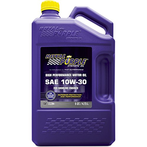 Royal Purple 51130 API-Licensed SAE 10W-30 High Performance Synthetic Motor Oil - 5 qt.