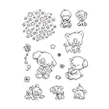 New Bear Style One Sheet Stamp For DIY Scrapbooking/Card Making/ Decoration Supplies