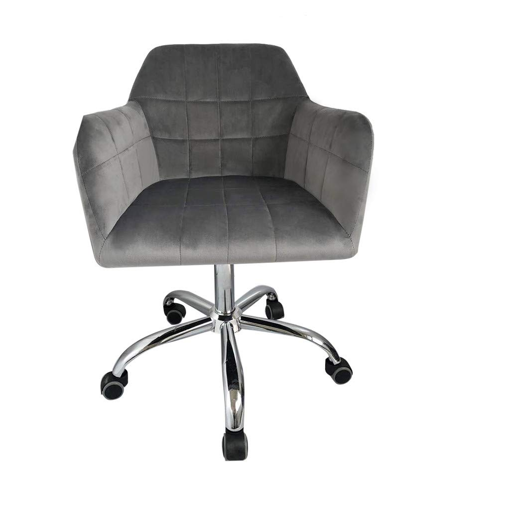 Jeeke Office Chair Leather Desk Gaming Chair with Massage Function Computer Chair Rolling Swivel Adjustable Stool Executive Chair for Workers & Students,Gray, Ship from USA (D) by Jeeke