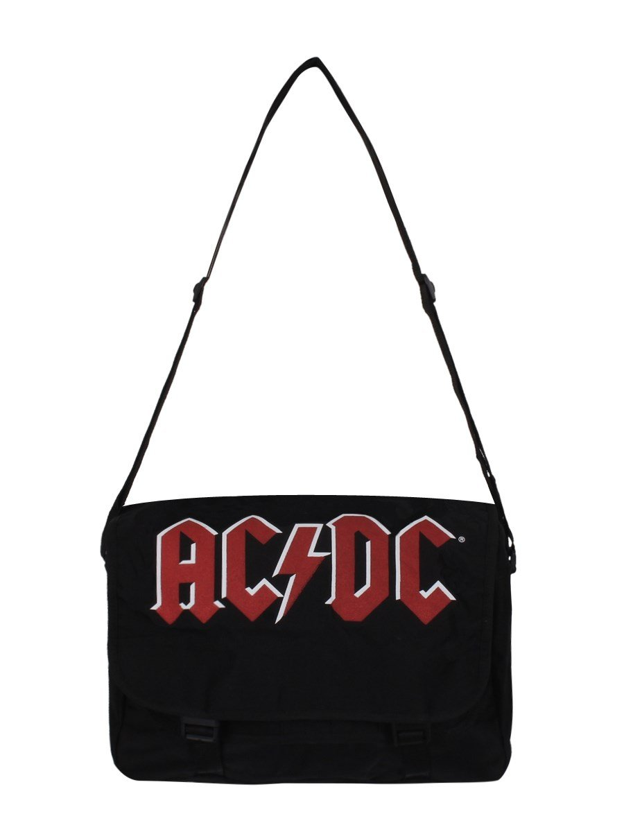 AC/DC Logo Shoulder bag black