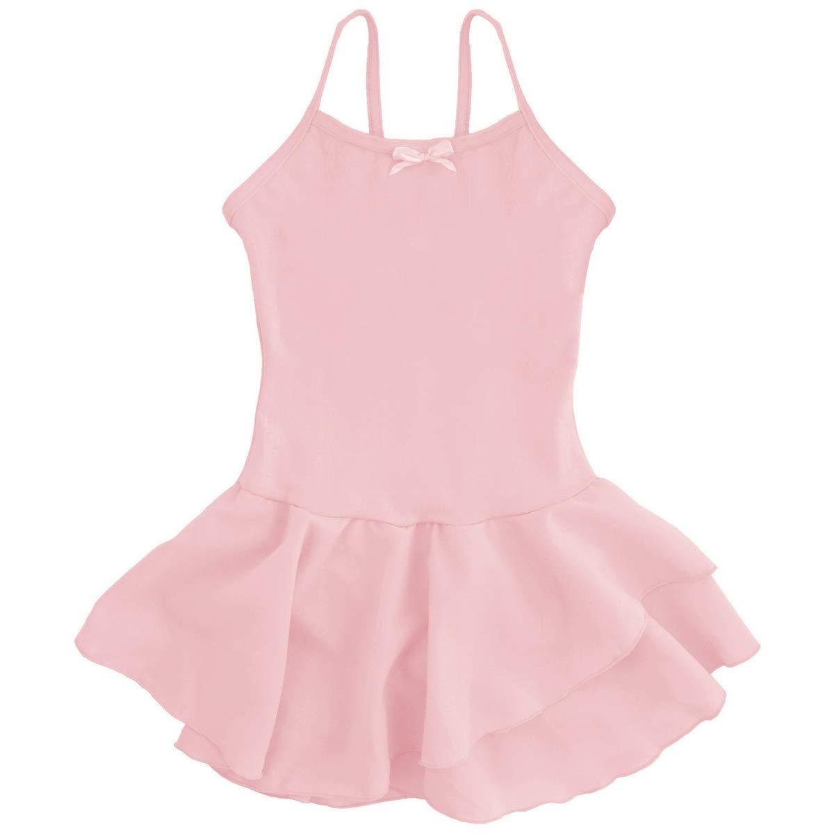 Dancina Ballet Leotards for Girls 8 Ballet Pink