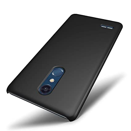 Amazon.com: SLEO LG G7/LG G7 Thinq funda – goma rígida PC ...