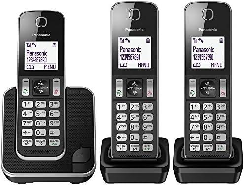 855ffdada86 Panasonic KX-TGD313EB Cordless Home Phone with Nuisance  Amazon.co.uk   Electronics