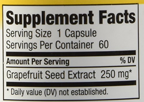 Nutribiotic Gse Capsules Caps, 250 Mg, 60 Count by Nutribiotic (Image #2)