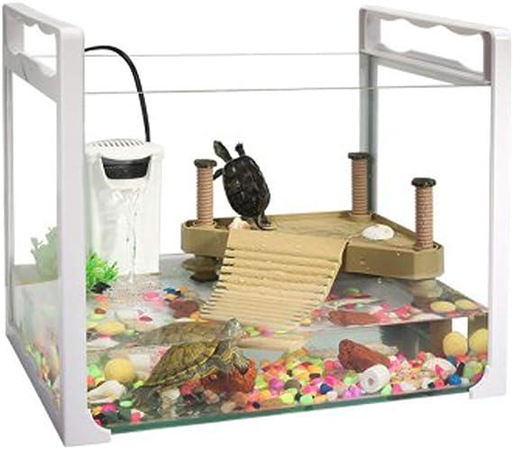 LSHUAIDJ - Caja de Reptiles para Acuario, Mini pecera, Cargador ...