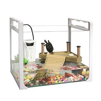 Acuario acuario tanque de peces de colores tanque de tortugas plástico tanque de tortugas de vidrio