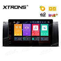 XTRONS 9 Android 8.0 Octa Core 4G RAM 32G ROM HD Digital Multi-touch Screen OBD2 DVR Car Stereo Player Tire Pressure Monitoring Wifi OBD2 NO-DVD for BMW X5 E53 E39