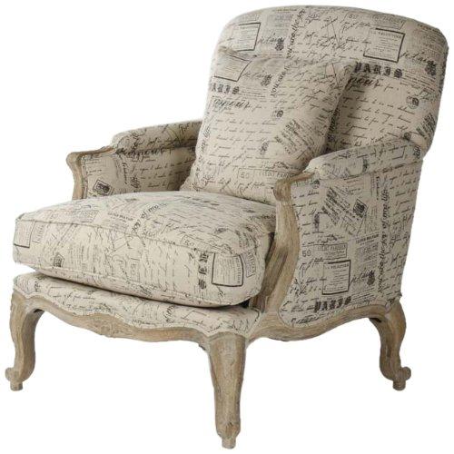 Zentique CFH124 E272 #41 Paris Club Chair (Club Chair Paris)