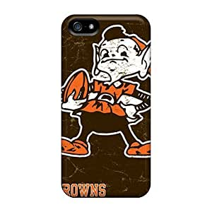 Snap-on Cleveland Browns Case Cover Skin Compatible With Iphone 5/5s