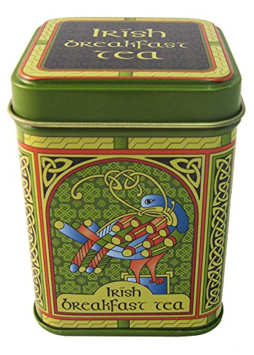 Irish Breakfast Tea - Celtic Peacock Designed 40G Tin