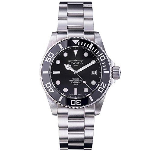Davosa Swiss Ternos Professional 16155950 Automatic Analog Men's Wrist Watch