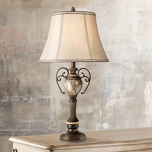 - Kathy Ireland Belvedere Manor Bronze Table Lamp