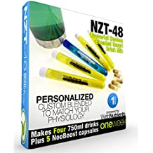 Limitless NZT-48 - 4 Drinks+5 Capsules - Powerful, Customized and Personalized Brain-Boosting Nootropic Drink Mix, with BONUS Booster Capsules.