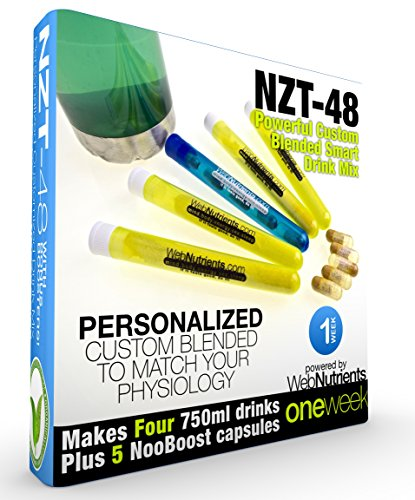 Limitless NZT 48 Customized Personalized Brain Boosting product image