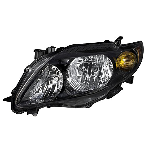 (OE Replacement Toyota Corolla Left Driver Side Headlight Assembly)