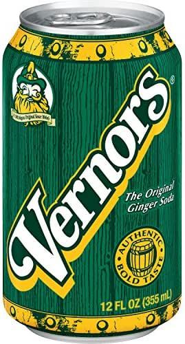 Soft Drinks: Vernor's Original Ginger Soda
