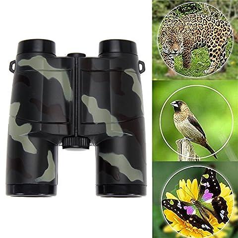 WinnerEco Folding Outdoor Binocular Telescope Scope Camouflage Children Kid Boy Toys (Folding Binoculars Kids)