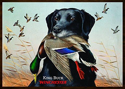 Duck Rug (Rockin W Brand Winchester King Buck Area Rug,)