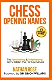 Chess Opening Names: The Fascinating & Entertaining History Behind The First Few Moves-Nathan Rose