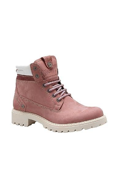 91f6eaf06 Wrangler Women's Creek Boots (4 UK, Winter Rose): Amazon.co.uk ...