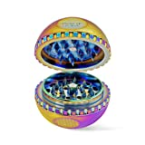 Ooze Saturn Globe Herb Grinder - 4pc -2.5 Inches