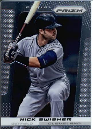 2013 Panini Prizm Baseball Card 41 Nick Swisher C At Amazons