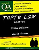 Torts Law Q&A, David Green, 1859419615