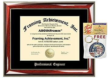 Amazon.com: AllGiftFrames – Placa de matrícula con ...