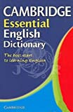 Cambridge Essential English Dictionary, Various Authors, 052100537X