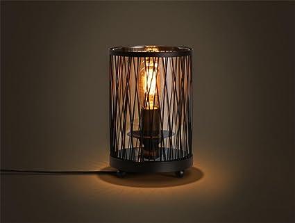 H&m lampade da tavolo lampade da scrivania industrial vintage rete