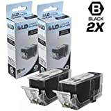 LD © Compatible Replacement for Canon PGI220 Set of 2 Black Inkjet Cartridges Includes: 2 2945B001 Black for use in Canon PIXMA MP620, iP3600, MP640, MP990, MX860, MP980, MP560, iP4700, MP620B, iP4600, & MX870 Printers
