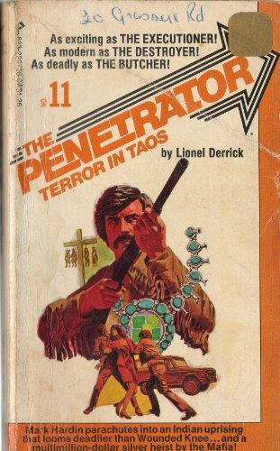 book cover of Terror in Taos