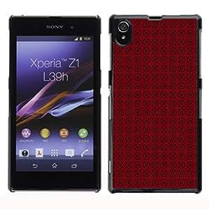 ZECASE Funda Carcasa Tapa Case Cover Para Sony Xperia Z1 L39H No.0003263
