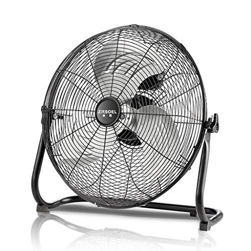 (Industrial Fan/Electric Fan Desktop/Floor Fan/Landing Fan Table/High Power Commercial/Household with 3 Speeds and Adjustable Fan Head/16 inches)