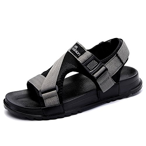 Men's Shoes Feifei Personality Fashion Non-Slip Casual Outdoor Sandals 2 Color Optional Gray CqvsKb