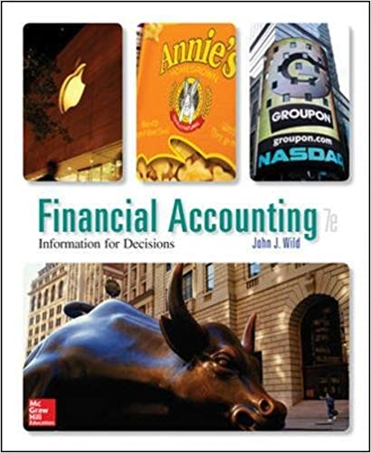 Financial accounting information for decisions 7th edition john j financial accounting information for decisions 7th edition john j wild 9780078025891 amazon books fandeluxe Gallery