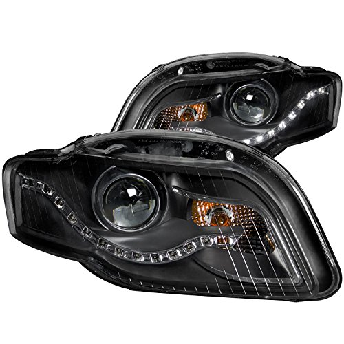 Anzo Lighting R8 Style Black Led Headlights