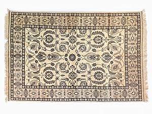Pure Natural Wool Turkmen Elite Handmade Carpet (1.99m X 2.94m)