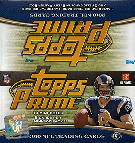 2010 Topps Prime Football Hobby Box