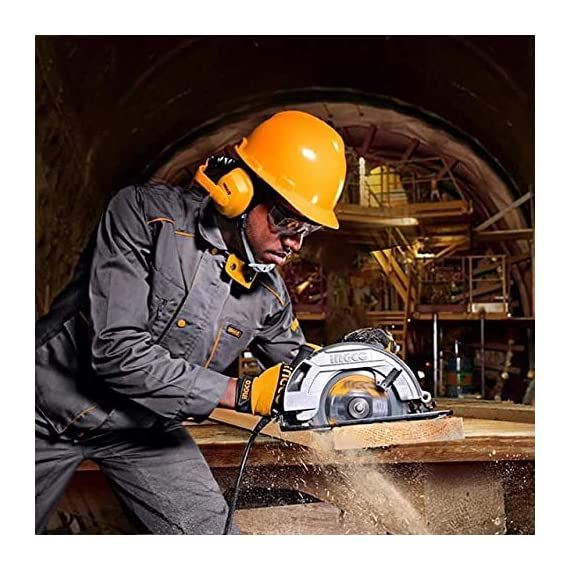 INGCO POWERTOOLS & HANDTOOLS 1200W Circular saw Blade diameter: 185x20mm With 1pcs 185mm blade With 1 set extra carbon brushes 2