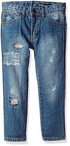 - DKNY Boys' Big Slim Fit Jean (More Styles Available), Medium Classic, 16