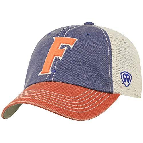Top of the World Men's Relaxed Fit Adjustable Mesh Offroad Hat Team Color Icon, Florida Gators Royal, One Size