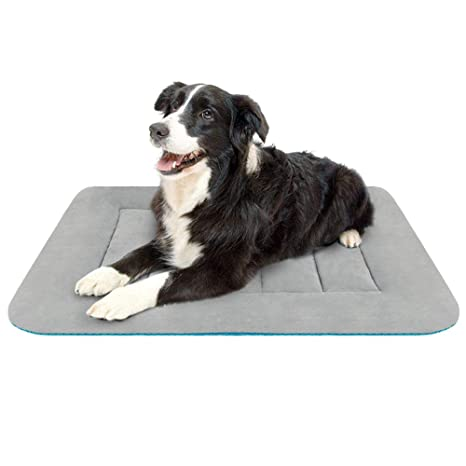 Hero Dog Colchoneta Medio Suave para Perros - 100% Lavable A Máquina, Colchón De