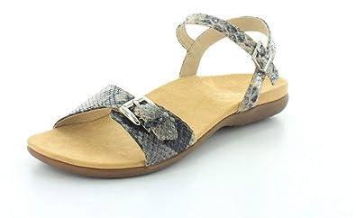 e925e1844a2 Vionic Alita Womens Ankle Strap Sandal Natural Snake - 6 Medium