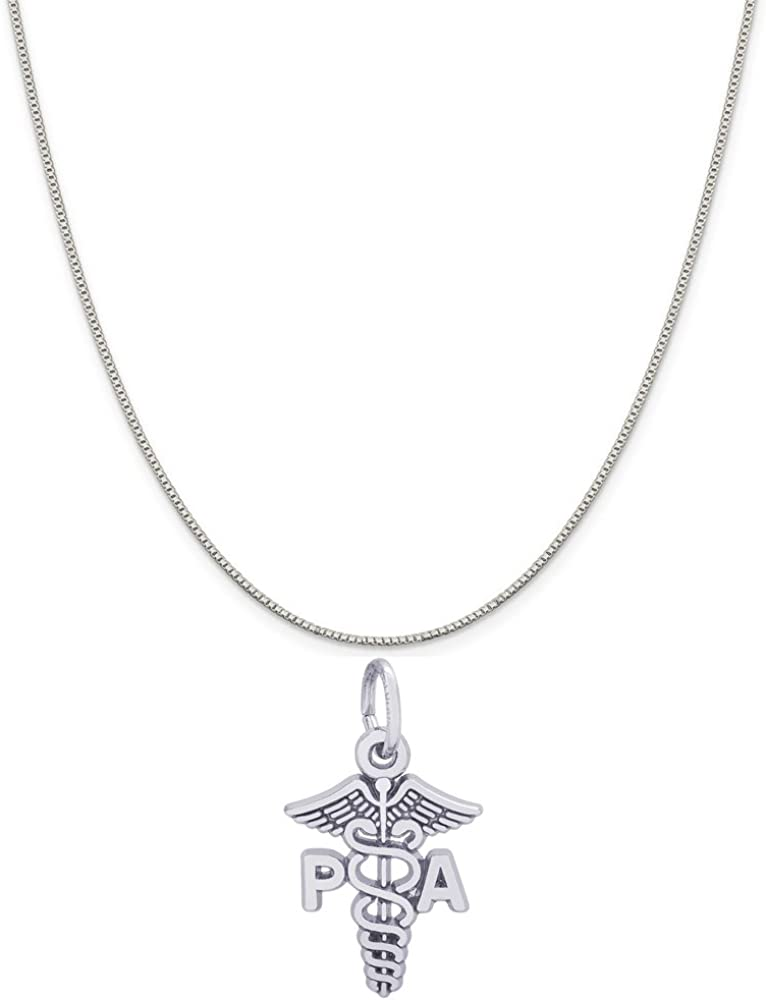 Pa Caduceus Charm Charms for Bracelets and Necklaces