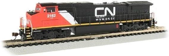 Rapido 540505 N Scale  GE DASH 8-40CM CN Stripes #2422 DCC /& Sound