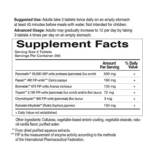 Garden of Life Wobenzym N 800 Tablets by Garden of Life (Image #5)