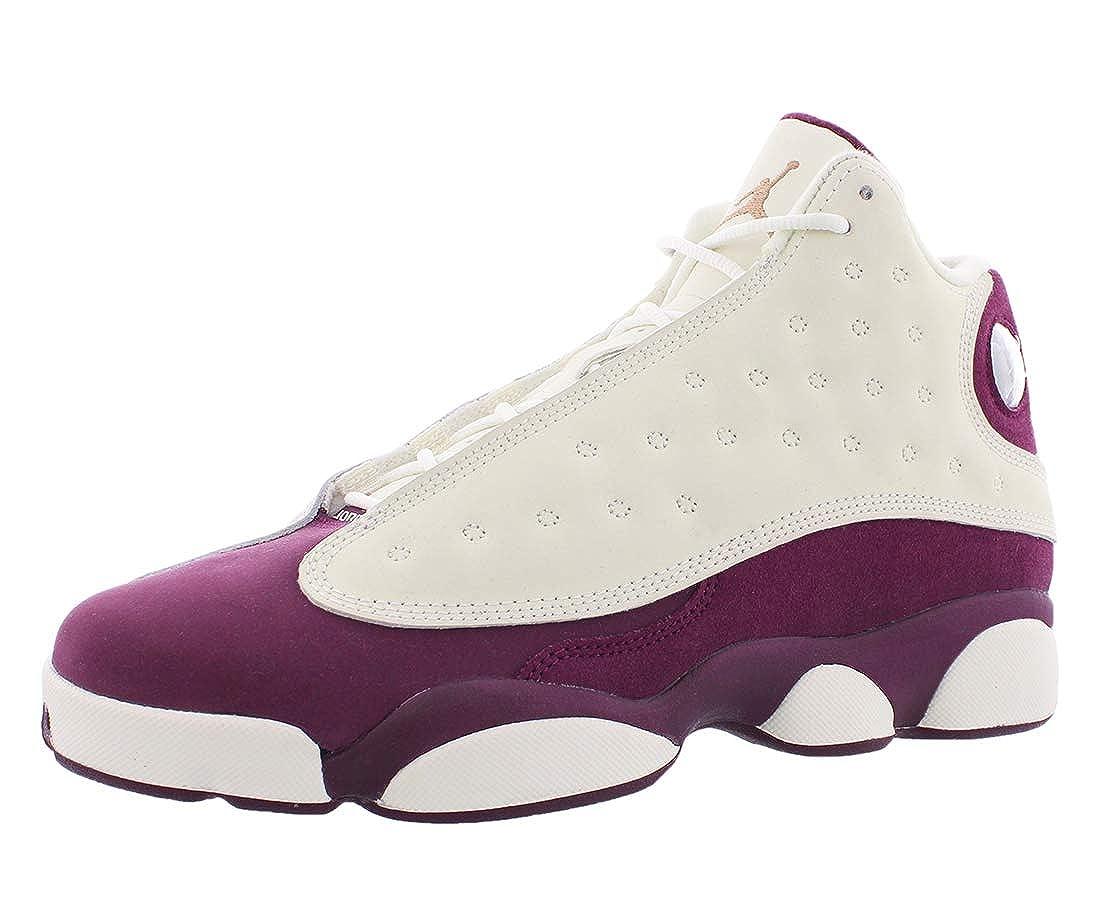 patrones de moda descuento especial de bajo precio Air Jordan Retro 13 Gg 'Bordeaux' - 439358-112 - Size 8: Amazon.in ...
