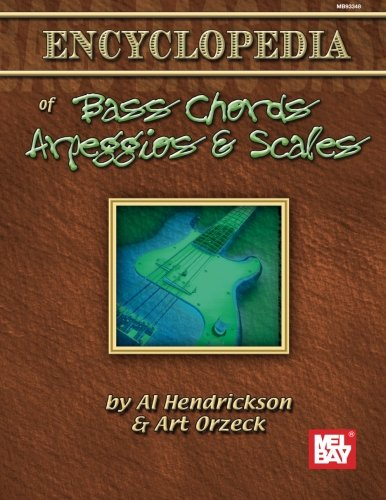 Mel Bay's Encyclopedia of Bass Chords, Arpeggios & Scales